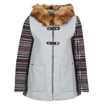 Clothing Women coats Desigual GERDI Grey