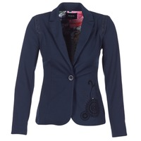 Clothing Women Jackets / Blazers Desigual GROFA MARINE