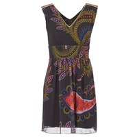 Clothing Women Short Dresses Desigual GERCO Multicoloured