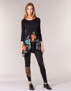 Clothing Women leggings Desigual JULEF Black