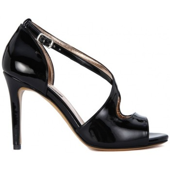 Shoes Women Sandals Albano VERNICE NERO Nero