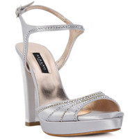 Shoes Women Sandals Albano RASO ARGENTO Grigio