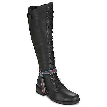 Shoes Women Thigh boots Felmini HARDY Black