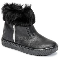 Shoes Girl Mid boots Citrouille et Compagnie HOUPI Black