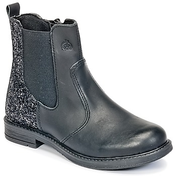 Shoes Girl Mid boots Citrouille et Compagnie HAYULE Black
