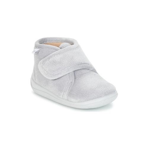 Shoes Children Slippers Citrouille et Compagnie HALI Grey