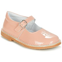 Shoes Girl Flat shoes Citrouille et Compagnie HIVETTE Pink