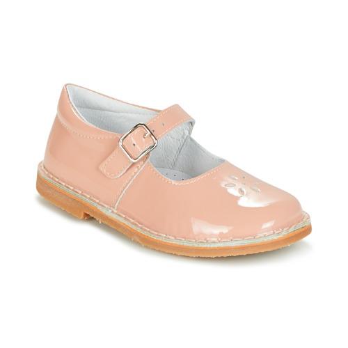 Shoes Girl Flat shoes Citrouille et Compagnie HIVETTE Pink