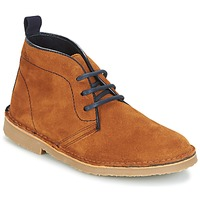 Shoes Boy Mid boots Citrouille et Compagnie HITOU Brown / Marine