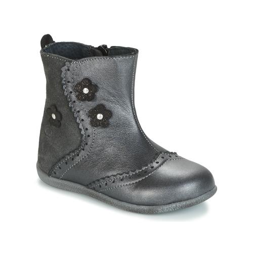 Shoes Girl Mid boots Citrouille et Compagnie HOPETTE Grey