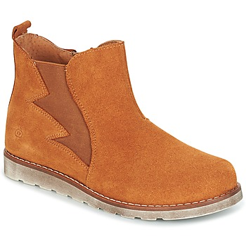 Shoes Boy Mid boots Citrouille et Compagnie HISSA CAMEL