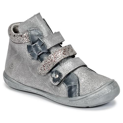 Shoes Girl Mid boots Citrouille et Compagnie FALIE Grey