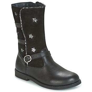 Shoes Girl High boots Citrouille et Compagnie HANDRE Black
