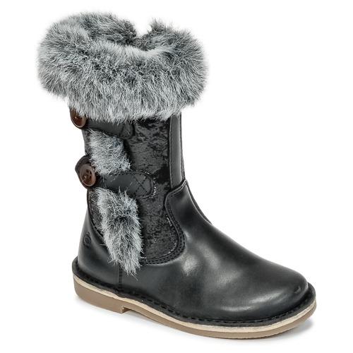 Shoes Girl High boots Citrouille et Compagnie HOSY Black