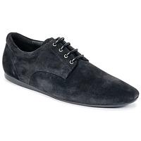 Shoes Men Derby Shoes Schmoove FIDJI NEW DERBY Black