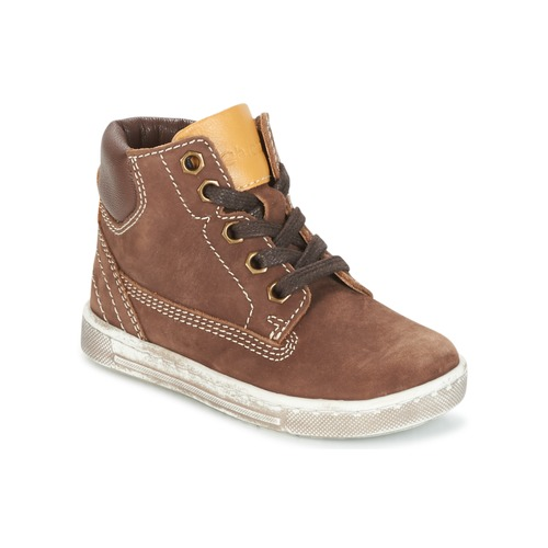 Shoes Boy Hi top trainers Chicco CLOVER Brown