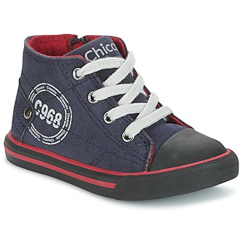 Shoes Boy Hi top trainers Chicco CRITTER Marine / Black / Red