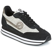 Shoes Women Low top trainers No Name EDEN JOGGER Black / Grey