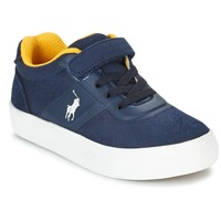 Shoes Children Low top trainers Ralph Lauren HANFORD HM EZ Blue