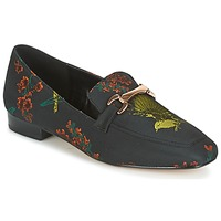 Shoes Women Loafers Dune LOLLA  BLACK / Multi