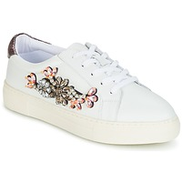 Shoes Women Low top trainers Dune London EMERALDA White