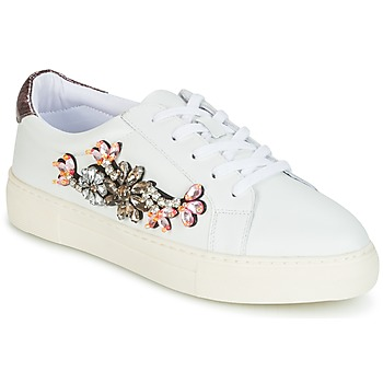 Shoes Women Low top trainers Dune EMERALDA White