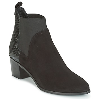 Shoes Women Ankle boots Dune OPRENTICE  BLACK