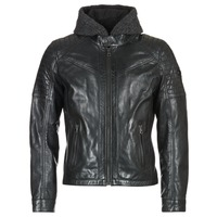 Clothing Men Leather jackets / Imitation leather Redskins MORISSON Black