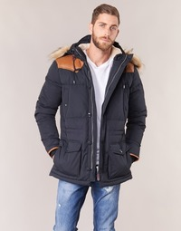Clothing Men Duffel coats Schott ARIZONA Blue / Marine