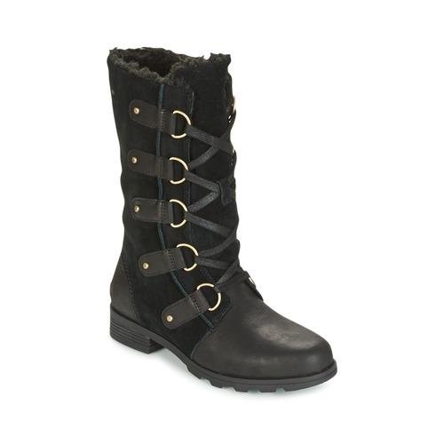 Shoes Women High boots Sorel EMELIE LACE Black