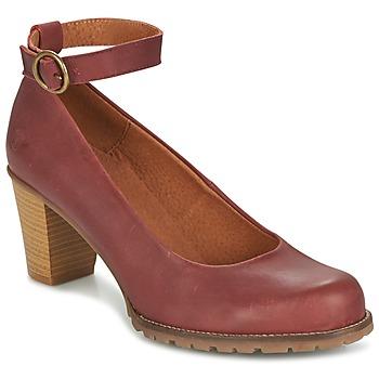 Shoes Women Heels Casual Attitude HARCHE Bordeaux