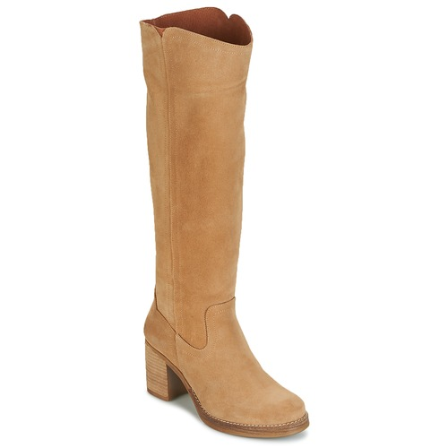 Shoes Women High boots Casual Attitude HAPI Beige