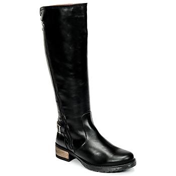 Shoes Women High boots Casual Attitude HAPO Black