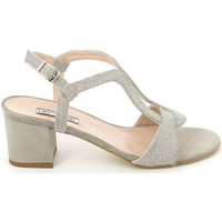 Shoes Women Sandals Grunland SA1603 High heeled sandals Women Beige Beige