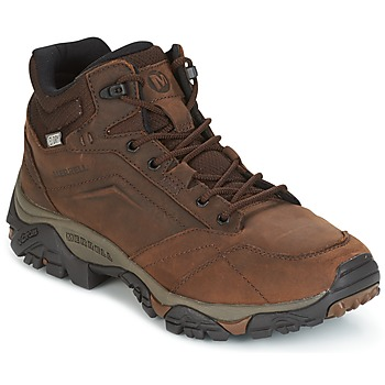 Shoes Men Walking shoes Merrell MOAB VENTURE MID WTPF Brown
