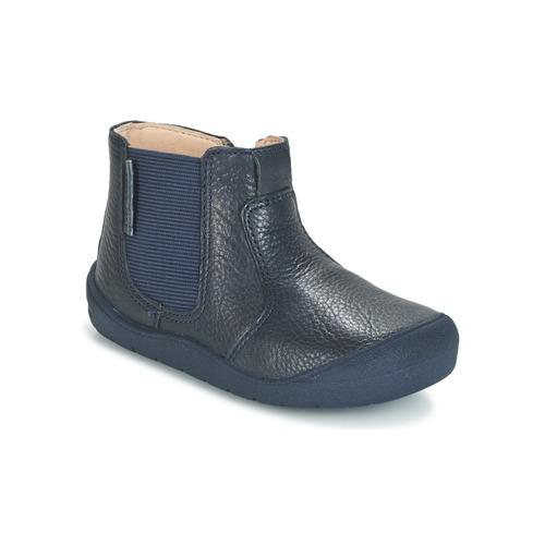 Shoes Children Mid boots Start Rite FIRST CHELSEA Marine