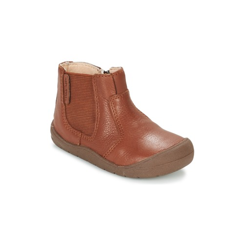 Shoes Children Mid boots Start Rite FIRST CHELSEA Brown