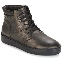 Shoes Women Hi top trainers PLDM by Palladium TRACK DST W Black / Gold
