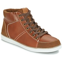 Shoes Men Hi top trainers Skechers MENS USA Camel