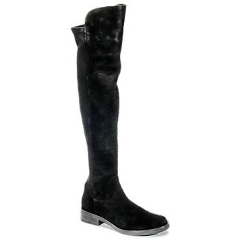 Shoes Women Thigh boots Buffalo NUPAN Black