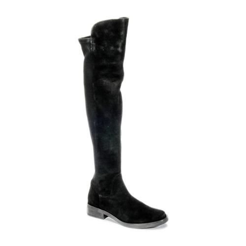 Shoes Women Thigh boots Buffalo NUPAN Black