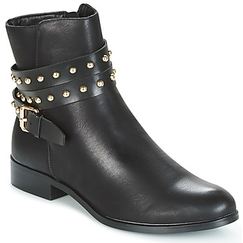 Shoes Women Mid boots Buffalo NIPATE Black
