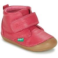 Shoes Girl Mid boots Kickers SABIO Fuschia