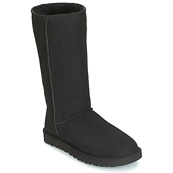 Shoes Women High boots UGG CLASSIC TALL II Black