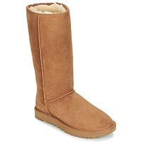 Shoes Women High boots UGG CLASSIC TALL II Brown