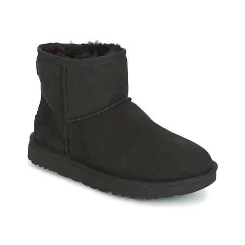 Shoes Women Mid boots UGG CLASSIC MINI II Black