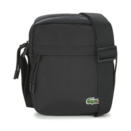 Bags Men Pouches / Clutches Lacoste NEOCROC Black