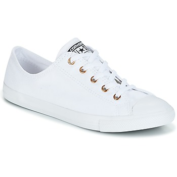 Shoes Women Low top trainers Converse CHUCK TAYLOR ALL STAR DAINTY White / Gold