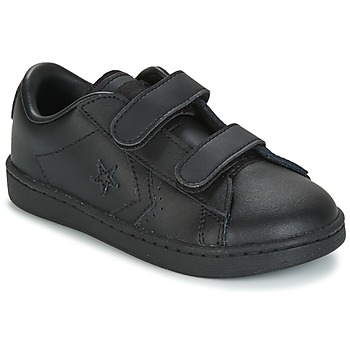 Shoes Boy Low top trainers Converse PL 2V OX INFANT  black