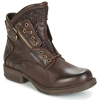 Shoes Women Mid boots Dockers by Gerli CORTA Brown